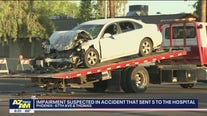 Phoenix PD: Impairment may have been a factor in head-on collision