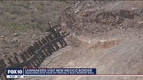 Lawmakers visit New Mexico border