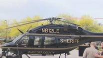 MCSO unveils new helicopter dedicated to fallen deputy