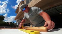 Made in Arizona: Turning passion for baseball and firefighting into creative works of art with 'Bats of Faith'