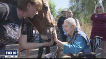 Wildhorse Ranch Rescue horse helps hospice patient complete bucket list