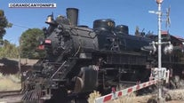 Steam Saturdays: Restored vintage locomotives take passengers to the Grand Canyon