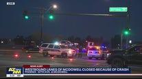 FD: 3 critically injured in multi-car crash in Phoenix