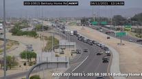 Lanes reopen on Loop 303 after a fatal crash