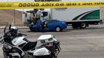 PD: Suspect opens fire at officer, crashes on I-17 in Phoenix