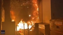 Riot declared in Portland when protesters smash windows, set fires after police kill man