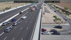 Loop 101 reopens at Indian School Road in Scottsdale following crash