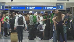Sky Harbor Airport bustling with travelers during Easter weekend