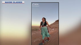 Skateboarder on Navajo Nation goes viral with her video