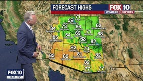 Noon Weather Forecast - 4/22/21