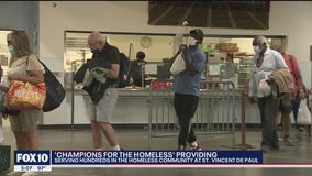 'Champions for the Homeless' provides hundreds of meals on Easter to people in need