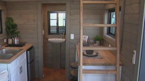 Tiny homes at Maricopa County Home and Garden Show