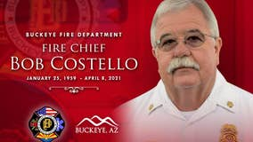City of Buckeye's longtime fire chief dies at 62