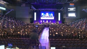 Grand Canyon University celebrates biggest graduating class in its history