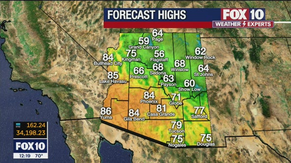 Noon Weather Forecast - 4/16/21