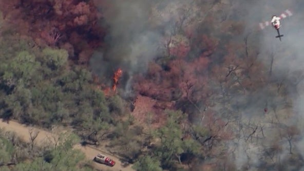 Arizona State Forestry officials: Wildfire that burned 1,200 acres of land in Pinal County is human-caused