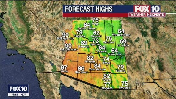 Morning Weather Forecast - 4/23/21
