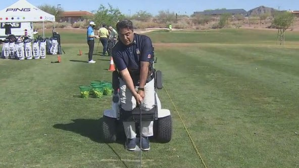 'Paragolfer': New adaptive cart helps disabled people play golf