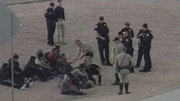 DPS finds group of undocumented immigrants during traffic stop on I-10