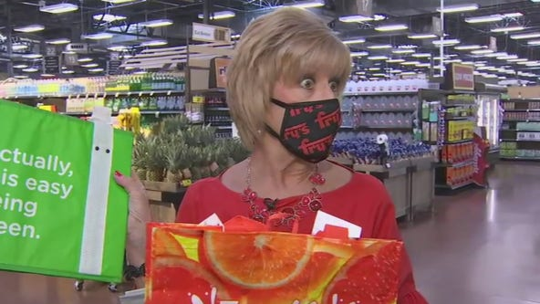 Fry's grocery stores offer plastic bag recycling on Earth Day