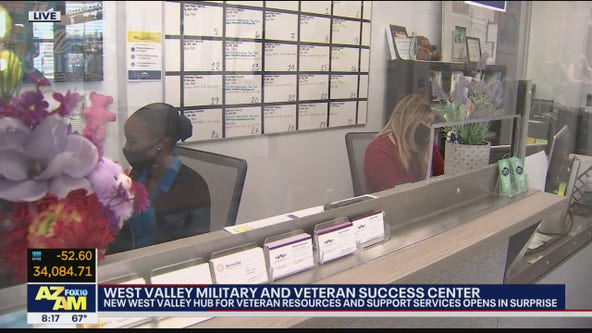 New hub for veteran resources opens in Surprise