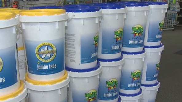 Chlorine shortage could lead to higher prices this summer