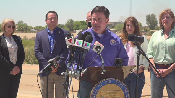 Arizona Governor deploys National Guard to US-Mexico border