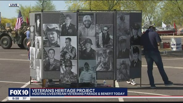 Veterans Heritage Project holds virtual parade