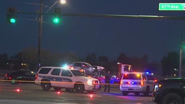 3 critically injured in multi-car crash in Phoenix