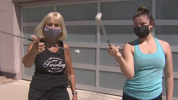 Local twirling school needs new practice facility, may have to cancel upcoming competitions