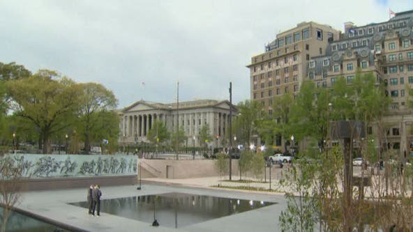 National World War I Memorial unveiled in nation's capital