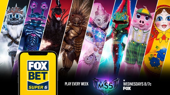 Download the FOX Super 6 app, win cash, watch 'The Masked Singer': It doesn't get any better