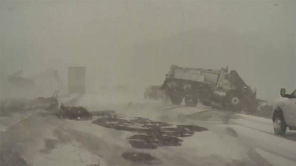 Interstate 41 pileup in WI caught on camera; dozens of vehicles involved