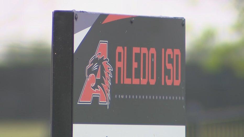 ALEDO ISD SIGN