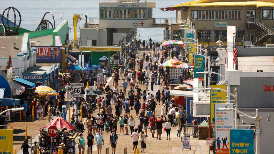Santa Monica and Venice people talk about reopenings with spring break and the holidays.