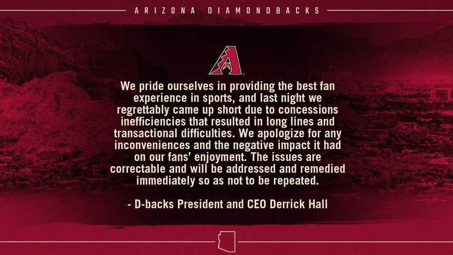 Courtesy of the Arizona Diamondbacks