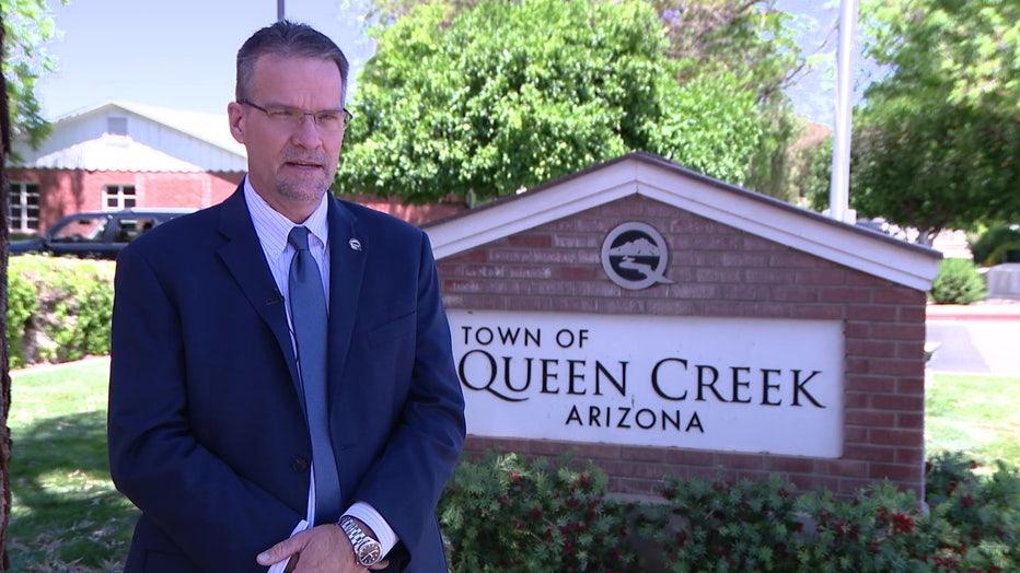 Queen Creek Town Manager John Kross
