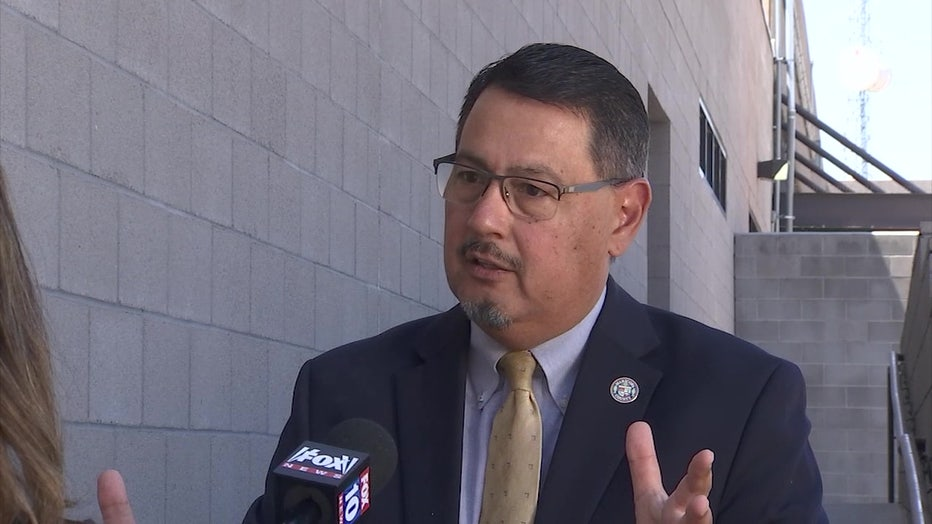 Maricopa County Supervisor Steve Gallardo