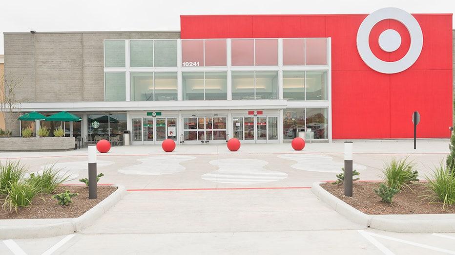 Target storefront
