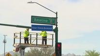 Phoenix unveils ceremonial street signs honoring civil rights activist Cesar Chavez