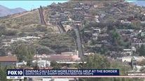 Sen. Sinema calls for more federal help at the U.S - Mexico Border