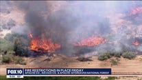 Fire restrictions to be put in place across Arizona