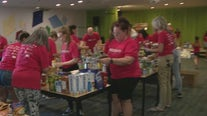 Keller Williams volunteers fix up activities center for foster kids, families