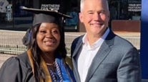 'Broken to Blessed': Uber driver graduates from college, writes book after passenger pays initial school debt
