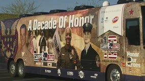 National relay honoring fallen military, first responders goes through Phoenix