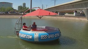 Tempe Town Lake's 'Donut' boats
