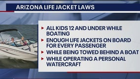 Boating Safety Week 2021: Officials stress water safety while out at Arizona lakes