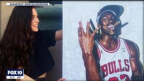 UArizona senior gains worldwide attention after painting incredibly lifelike portraits of celebrities