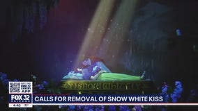 Controversy surrounds Disneyland ride and kiss with Snow White while she's unconscious