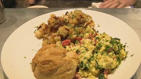 Making Mother's Day brunch with Liberty Market
